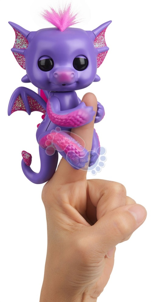 Интерактивный дракон Fingerlings Калин арт. 3584