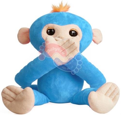 Интерактивная мягкая обезьянка-обнимашка Fingerlings Борис арт. 3531