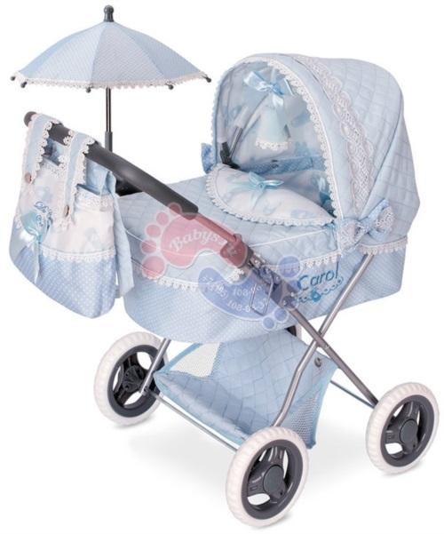 Коляска с сумкой и зонтиком DeCuevas серии Кэрол 60 см 85022