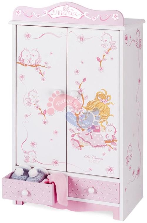 Гардеробный шкаф для куклы DeCuevas серии Мария 54023