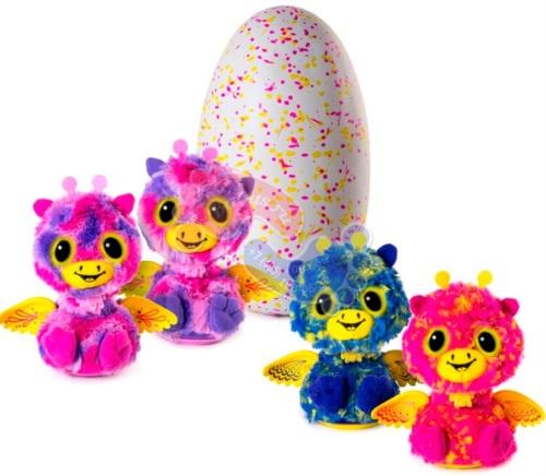 Интерактивная игрушка Hatchimals Близнецы вылупляющиеся из яйца 19110 PINK