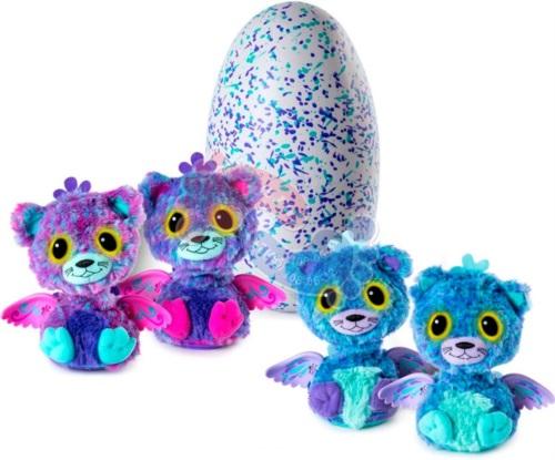 Интерактивная игрушка Hatchimals Близнецы вылупляющиеся из яйца 19110 PURP