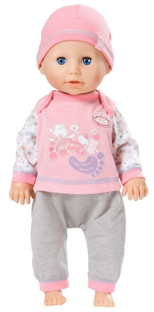 Интерактивная кукла  Zapf Creation Baby Annabell Учимся ходить 42 см 700-136