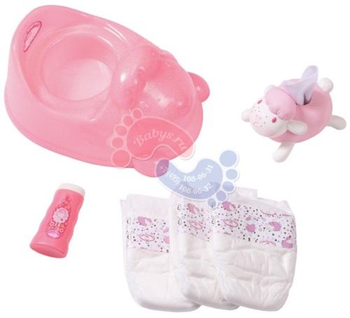 Набор горшок с аксессуарами Zapf Creation Baby Annabell 700-310