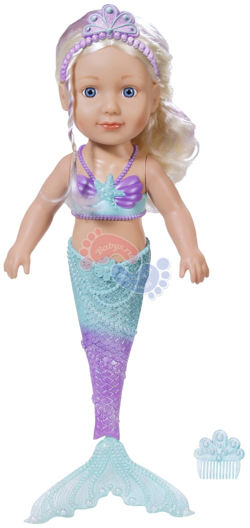 Кукла Сестричка Zapf Creation Baby Born Русалочка 43 см 824-344