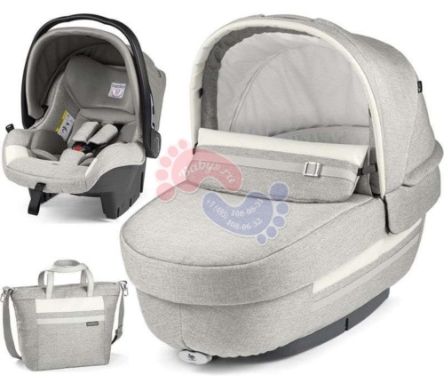 Комплект 2 в 1 Peg-Perego Set Modular Elite Luxe Pure