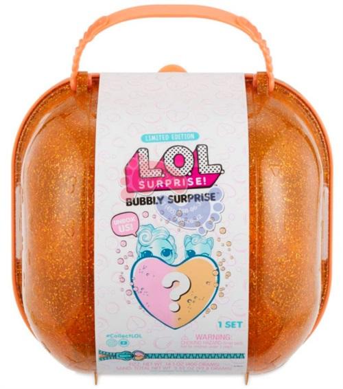LOL Surprise MGA Шипучий сюрприз кукла и питомец 558361 (оранжевый)