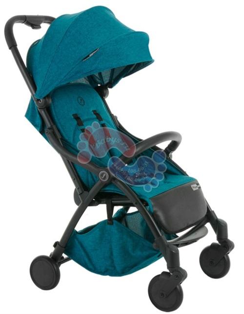 Прогулочная коляска Pituso Smart Turquoise / бирюзовый лен