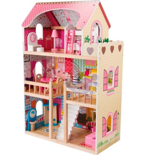Кукольный домик Edufun с мебелью 90см EF4109