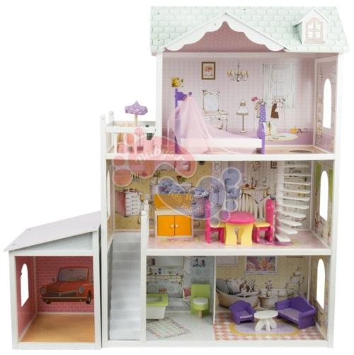 Кукольный домик Edufun с мебелью 123 см EF4108
