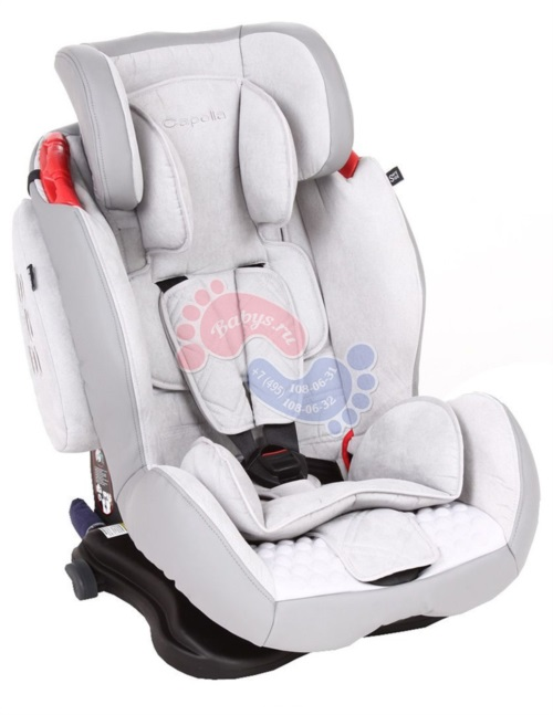 Автокресло Capella S12312 SPS Isofix Grey