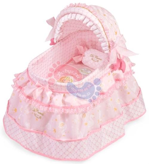 Кроватка для куклы с козырьком Decuevas серии Мария 46 см 51128