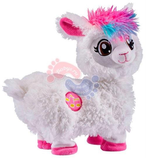 Интерактивная мягкая игрушка Zuru Pets Alive 9515Z Танцующая Лама