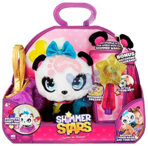 Shimmer Stars Плюшевая Панда с сумочкой S19352