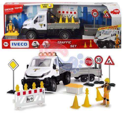 Игровой набор Dickie Toys Ремонт дороги с дорожными знаками 41,5 см 3838005