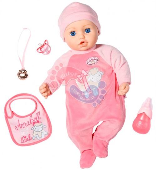 Интерактивная кукла Zapf Creation Baby Annabell 702-628