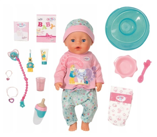 Интерактивная кукла Zapf Creation Baby Born Soft Touch Чистим зубки 43 см 827-086