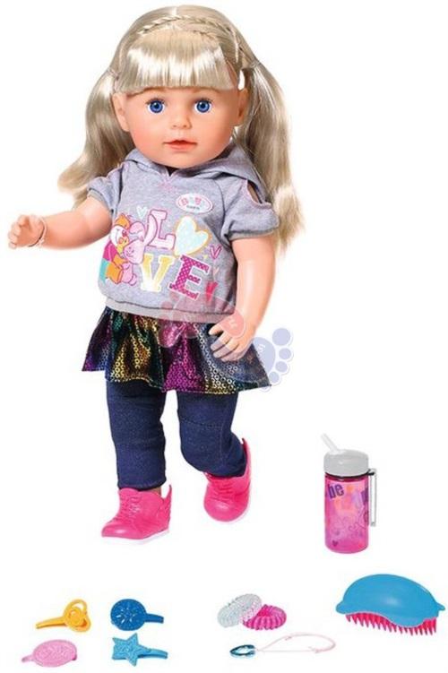 Интерактивная кукла Zapf Creation Baby Born Сестренка - Модница 824-603