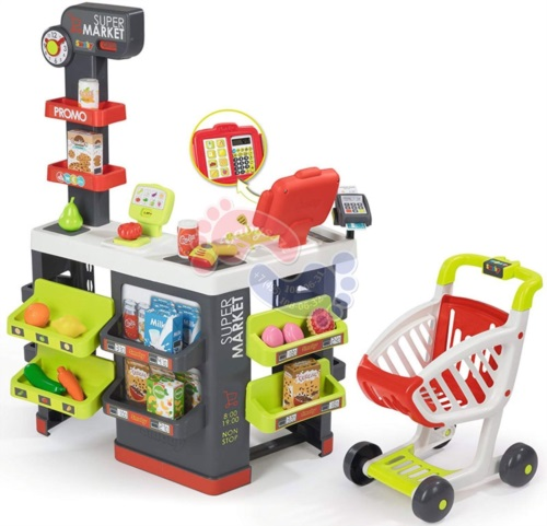 Супермаркет Smoby с тележкой 350213