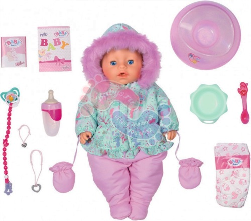 Интерактивная кукла Zapf Creation Baby Born Интерактивная Зимняя 827-529
