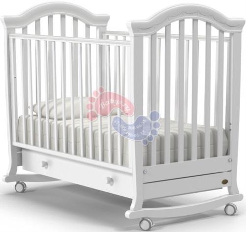 Детская кроватка Nuovita Perla Dondolo Bianco / Белый