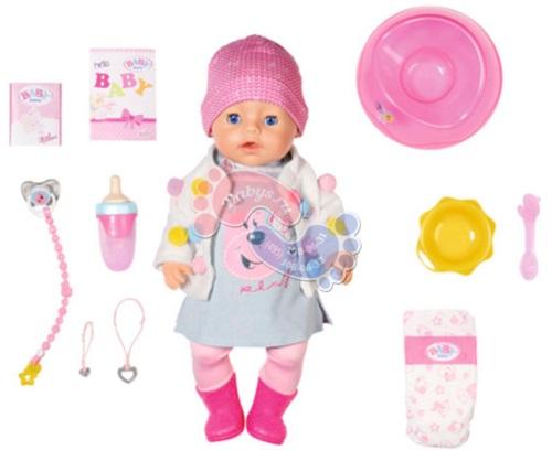 Интерактивная кукла Zapf Creation Baby Born Стильная весна 826-690