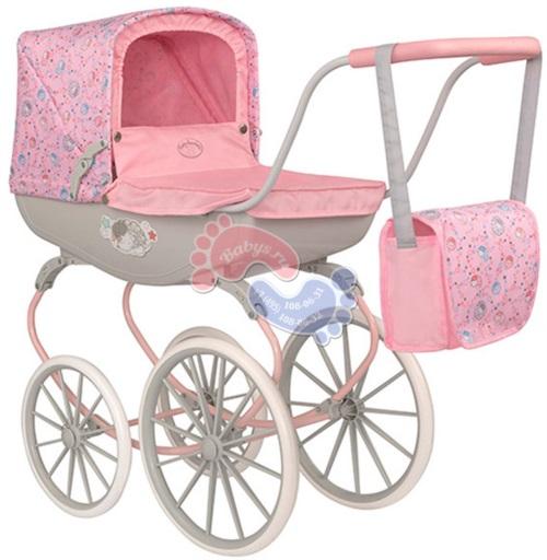Коляска-люлька Zapf Creation Baby Annabell винтажная 1423625