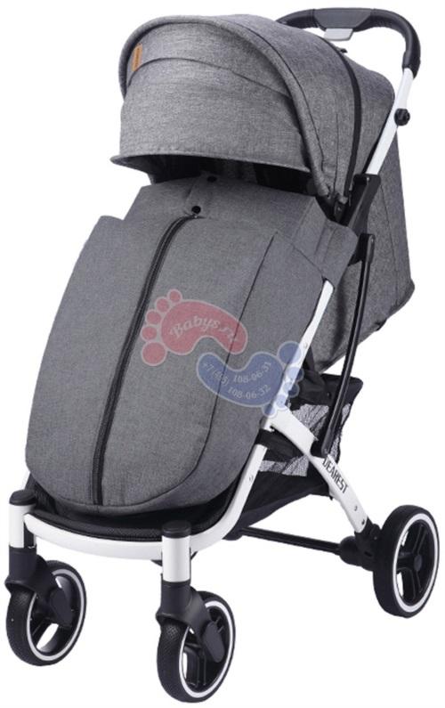 Прогулочная коляска Dearest 818 Plus White 2020 Premium Set Grey