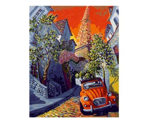 Schipper Раскраска по номерам Красный Ситроен 9130820