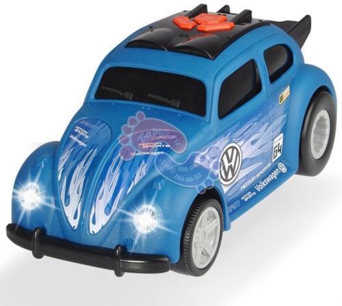 Автомобиль Dickie Toys VW Beetle Рейсинговый моторизованный 25,5 см. 3764011