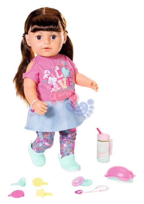 Интерактивная кукла Zapf Creation Baby born Сестричка брюнетка 827-185
