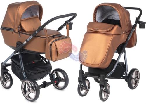 Коляска Adamex Reggio Special Edition 2 в 1 Y230 бронзовый