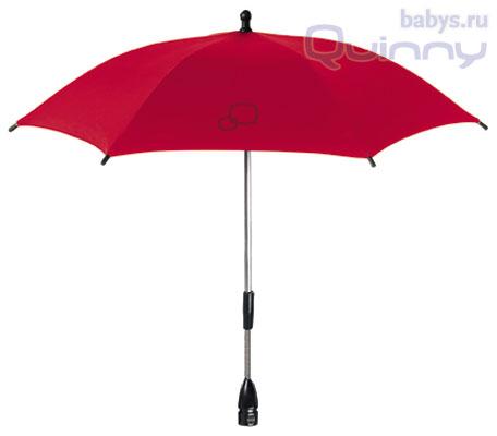 Универсальный зонтик для колясок Quinny Parasol Rebel Red (Квини Зонтик Бунтовской красный) 2012
