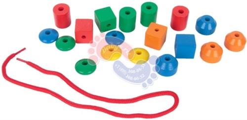 Детский развивающий набор Edufun Шнурок EF2082