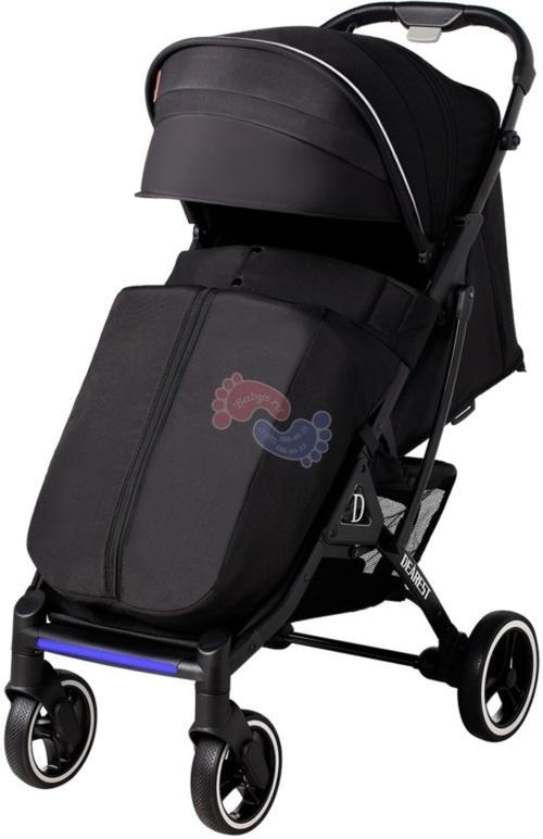 Прогулочная коляска Dearest 819 Black 2021 Premium Set Black