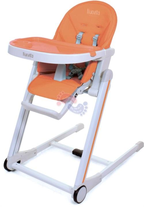 Стульчик для кормления Nuovita Belleza Arancione / Оранжевый