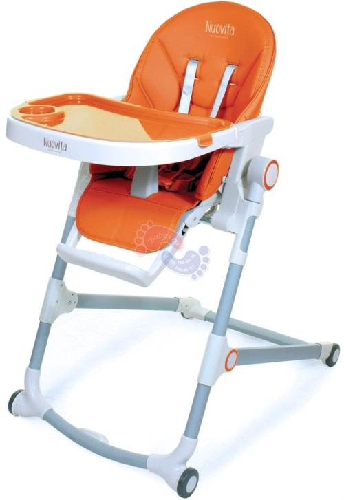 Стульчик для кормления Nuovita Sorisso Arancione / Оранжевый