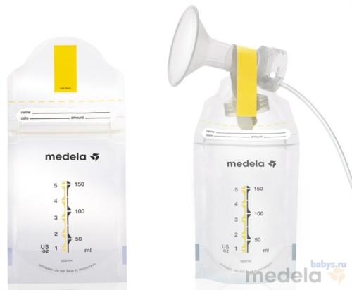 Пакеты для хранения грудного молока Medela (20 шт.) | Купить пакеты для хранения молока в интернет-магазине Пупсмаркет! | Отличные цены на продукцию M