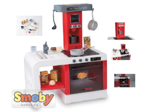 Кухня Smoby Mini Tefal Cheftronic арт.24114 (Смоби Мини Тефаль Шефтроник)