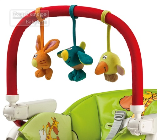 Дуга с игрушками Peg-Perego Play Bar High Chair