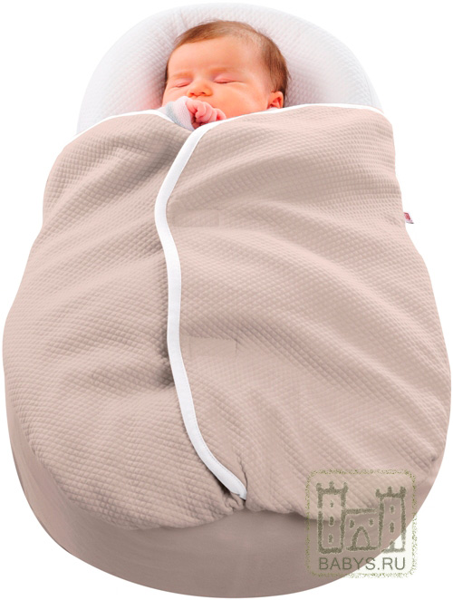 Одеяло Red Castle Cocoonacover для матрасика Cocoonababy taupe