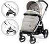Прогулочная коляска Peg-Perego Book 51 Pop-Up Luxe Opal на шасси 51 White-Black