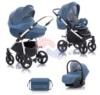 Коляска 3 в 1 TUTIS Zippy Amadeo 653251 синий/голубой