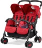 Коляска для двойни Peg Perego Aria Shopper Twin Geo Red