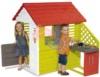 Детский домик с кухней Smoby 810713 красный