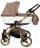 Коляска Adamex Reggio Special Edition 2 в 1 Y801 спальная люлька для новорожденных, вид сбоку