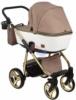 Коляска Adamex Reggio Special Edition 2 в 1 Y801 спальная люлька для новорожденных, вид сзади