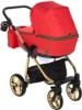 Коляска Adamex Reggio Special Edition 2 в 1 Y832 люлька для младенцев, вид сзади