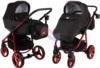Коляска Adamex Reggio Special Edition 2 в 1 Y300 черный/красный