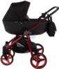 Коляска Adamex Reggio Special Edition 2 в 1 Y300 спальная люлька для новорожденных, вид сбоку